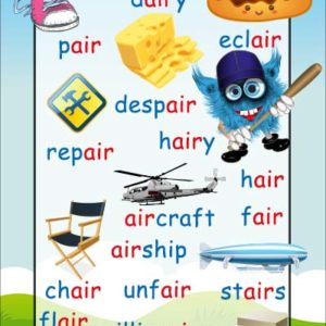 air phonics sound poster