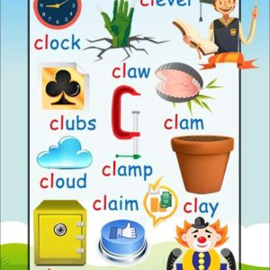 Phonics Poster - cl words