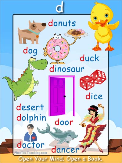 Letter Words Beginning With D