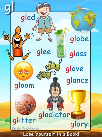 gl phonics sound poster