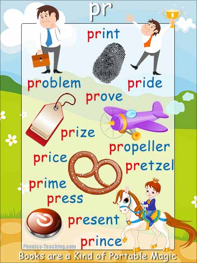 pr words consonant blend