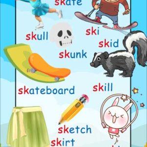 sk consonant blend