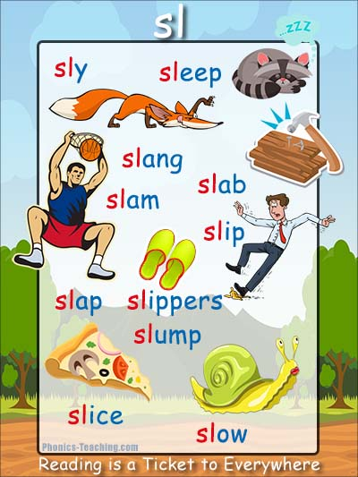 sl phonics sound poster