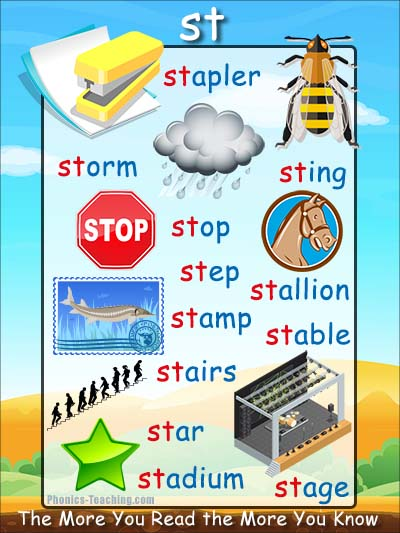 st phonics sound poster