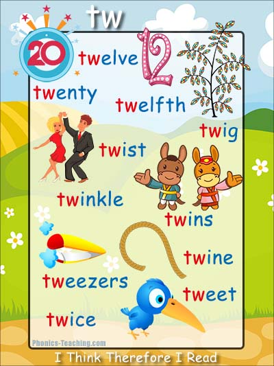 Letter Words Starting With Tw