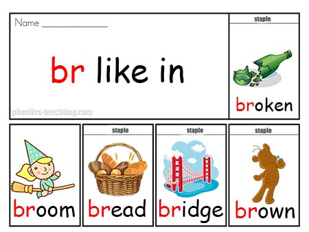br words flip book