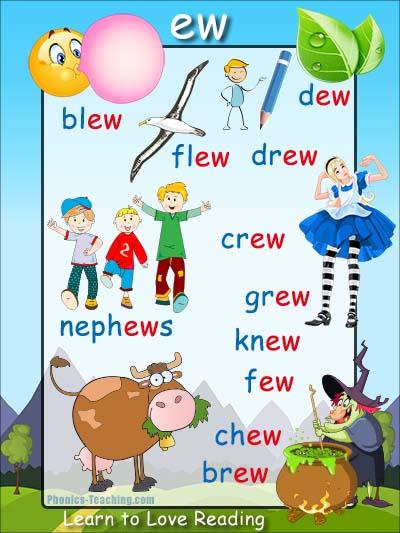 ew words - ew word list - Words with 'ew' in them - Free