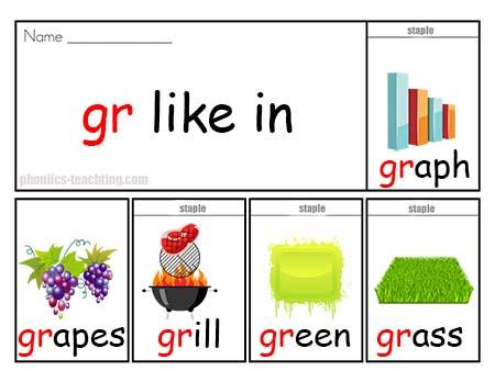 gr words flip book