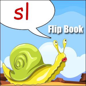 sl words flip book