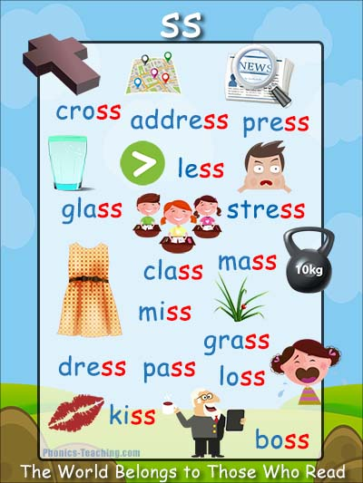ss words