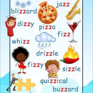 zz words