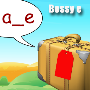 Bossy E Words Poster