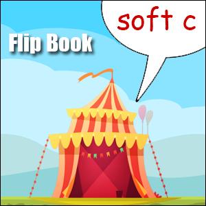 Flip Book soft-c - Phonics poster