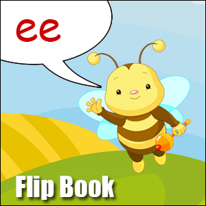 Flip Book ee- Phonics poster