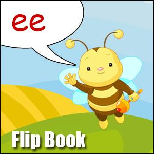 Flip Book ee- Phonics poster