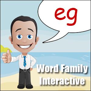 eg words
