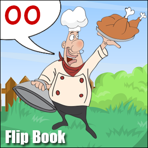 Flip Book oo short Phonics poster