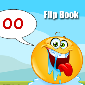 Flip Book oo sound Phonics poster