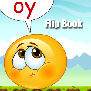 Flip Book oy sound - Phonics poster