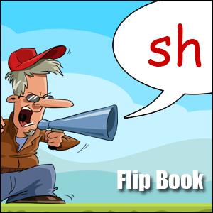 Flip Book sh - Phonics poster