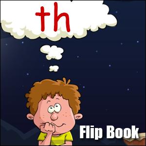 Flip Book th - Phonics poster