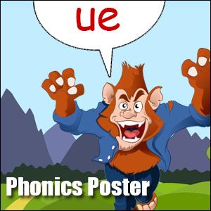 phonics ue poster