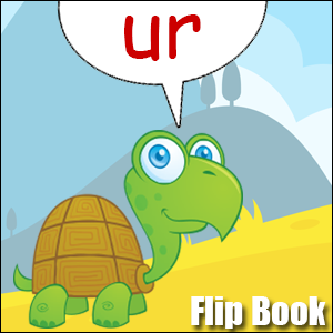 Flip Book ur Phonics poster
