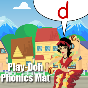 phonics worksheet letter d