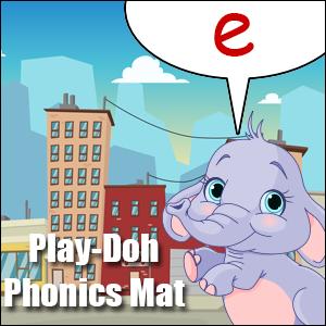 phonics worksheet letter e