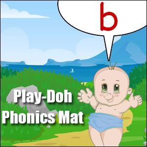 phonics worksheet letter b