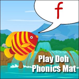 fsound play dough mat