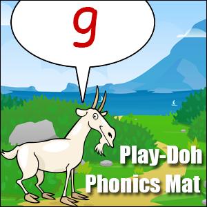 phonics worksheet letter g