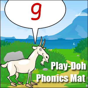 phonics worksheet letter g