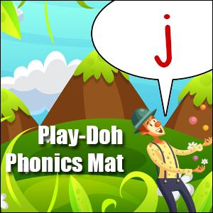 phonics worksheet letter j