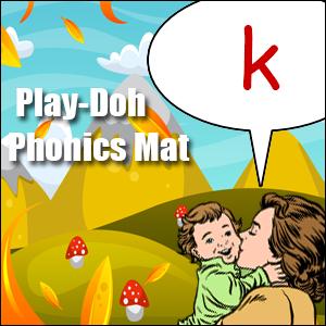 phonics worksheet letter k