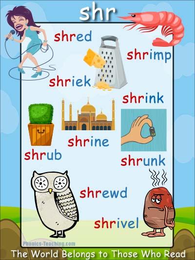 shr words