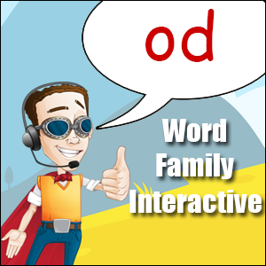 od words - word families