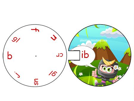 word wheel - ib sounds