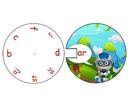 word wheel ar