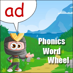 word wheel ad
