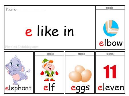 e words