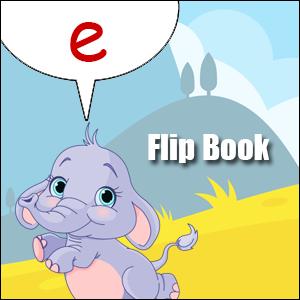 e words flip book