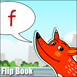 f words flip book