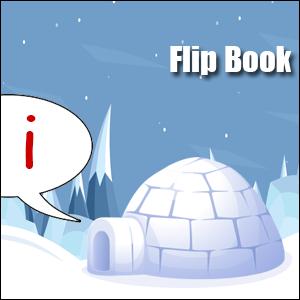 i words flip book