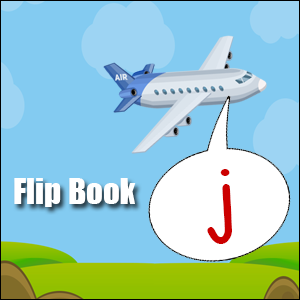 j words flip book