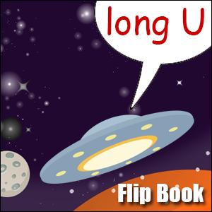 u words flip book