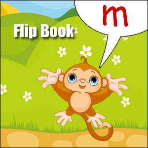 m words flip book