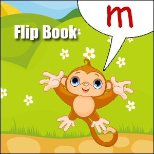 m words flip book