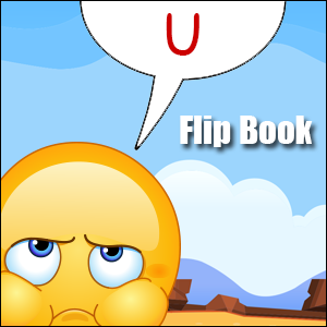 short u words flip book
