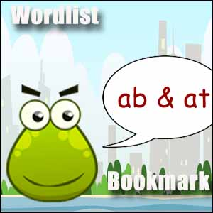 ab at wordlist bookmark
